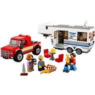 LEGO City 60182 Pickup & Wohnwagen - Baukasten
