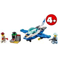 LEGO City 60206 Polizei Flugzeugpatrouille - Bausatz