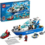 LEGO® City 60277 Polizeiboot - LEGO-Bausatz