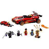 LEGO NINJAGO 71737 X-1 Ninja Supercar - LEGO-Bausatz