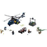 LEGO Jurský Svět 75928 Verfolgung von Blues mit dem Hubschrauber - Baukasten