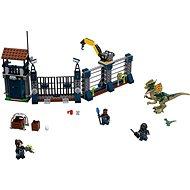 LEGO Jurský Svět 75931 Angriff der Dilophosaura auf die Patrouille - Baukasten