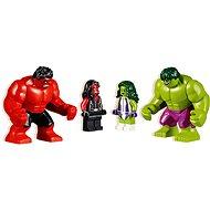 LEGO Super Heroes 76078 Hulk gegen Red Hulk - Baukasten