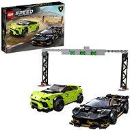 LEGO Speed Champions 76899 Lamborghini Urus ST-X und Lamborghini Huracan Super Trofeo EVO - LEGO-Bausatz