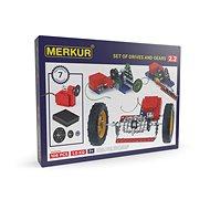 Bausatz Merkur Metallbaukasten Elektromotor und Getriebe - Stavebnice