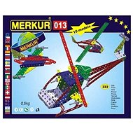 Bausatz Merkur Metallbaukasten - Hubschrauber/Flugzeug - Stavebnice