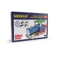 Merkur Metallbaukasten Eisenbahn-Modelle - Baukasten