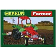 Bausatz Merkur Metallbaukasten Bauernhof, Farm-Set - Stavebnice