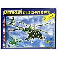 Bausatz Merkur Metallbaukasten Hubschrauber-Set - Stavebnice