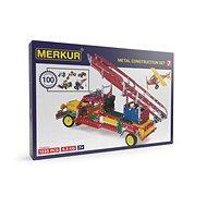 Universal-Metallbaukasten Merkur 7 - Vierstufig, 1124 Teile - Bausatz