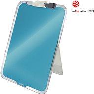 Leitz Cosy Desktop-Notizboard mit Glasoberfläche 29,7 cm x 21,6 cm - blau - Tafel