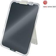 Leitz Cosy Desktop-Notizboard mit Glasoberfläche 29,7 cm x 21,6 cm - grau - Tafel