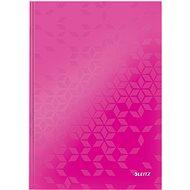 Leitz WOW A4 fester Einband pink - Notizblock