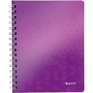 Leitz WOW A5 fester Einband lilafarben - Notizblock