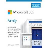 Microsoft 365 Family (15 Monate, 6 Benutzer) + Kaspersky Internet Security (12 Monate, 1 Benutzer) - Officesoftware