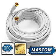 Mascom-Koaxialkabel 7676-100W, Steckverbinder F 10m