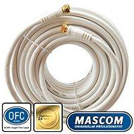 Mascom-Koaxialkabel 7676-150W, Steckverbinder F 15m - Koaxialkabel