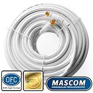 Mascom-Koaxialkabel 7676-200W, Steckverbinder F 20 m - Koaxialkabel