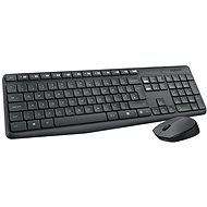 Logitech Wireless Combo MK235 DE - Tastatur/Maus-Set