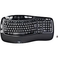 Logitech Wireless Keyboard K350 UK - Tastatur