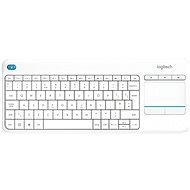 Logitech Wireless Touch KBD K400 Plus White DE - Tastatur