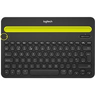 Logitech Bluetooth Multi-Device Keyboard K480 US schwarz - Tastatur