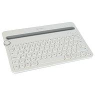 Logitech Bluetooth Multi-Device Keyboard K480 US bílá - Tastatur