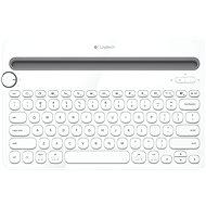Logitech Bluetooth MultiDev KBD K480 DE Weiß - Tastatur