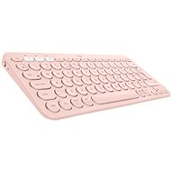 Logitech Bluetooth Multi Device Keyboard K380 - rosa - Tastatur