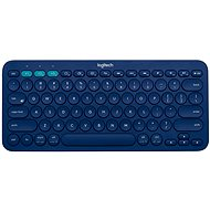 Logitech Bluetooth Multi-Device Keyboard K380 Blau - Tastatur