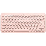 Logitech Bluetooth Multi-Device Keyboard K380 für Mac, pink - UK - Tastatur