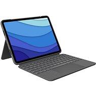 """Logitech Combo Touch für iPad Pro 11"""" (1., 2. und 3. Generation), grau - UK - Tastatur"""