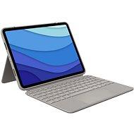"""Logitech Combo Touch für iPad Pro 11"""" (1., 2. und 3. Generation), Sand - UK - Tastatur"""