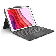 Logitech Combo Touch für iPad (7., 8. und 9. Generation) - UK - Tastatur