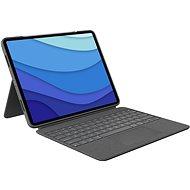 "Logitech Combo Touch für iPad Pro 12.9"" (5. Generation), grau - US INTL - Tastatur"