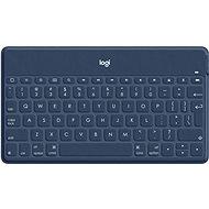 Logitech Keys-To-Go, classic blue - UK - Tastatur