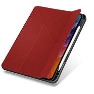 """UNIQ Transforma Rigor Cover mit Ständer für Apple iPad Air 10,9"""" (2020) - rot - Tablet-Hülle"""