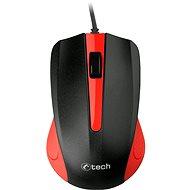 C-TECH WM-01R rot - Maus