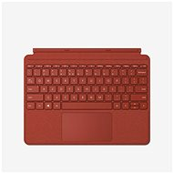 Microsoft Surface Go Type Cover - Poppy Red ENG - Tastatur