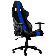 C-TECH PHOBOS schwarz-blau - Gaming Stuhl