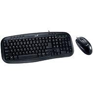 Genius KM-210 CZ+SK - Tastatur/Maus-Set