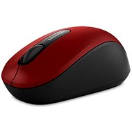 Microsoft Wireless Mobile Mouse 3600 Dark Red - Maus
