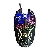 A4tech Bloody N50 Neon schwarz mit Neon-Hintergrundbeleuchtung - Maus