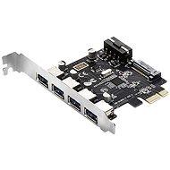 EVOLVEO 4 x USB 3.2 Gen 1 PCIe, Erweiterungskarte - Erweiterungskarte