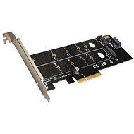 EVOLVEO NVMe & M.2 SSD PCIe, Erweiterungskarte - Erweiterungskarte