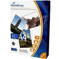 MEDIARANGE 100 A4-Bögen, glänzend - Fotopapier