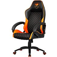Cougar Fusion schwarz / orange Stuhl - Gaming-Stuhl