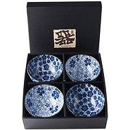 Made In Japan Set Schalen Blue Plum & Cherry Blossom Design 300 ml 4-tlg