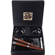 Made In Japan Sushi Set Schwarz Sakura 6-tlg - Set