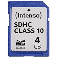 Intenso SD Card Class 10 4GB SDHC - Speicherkarte
